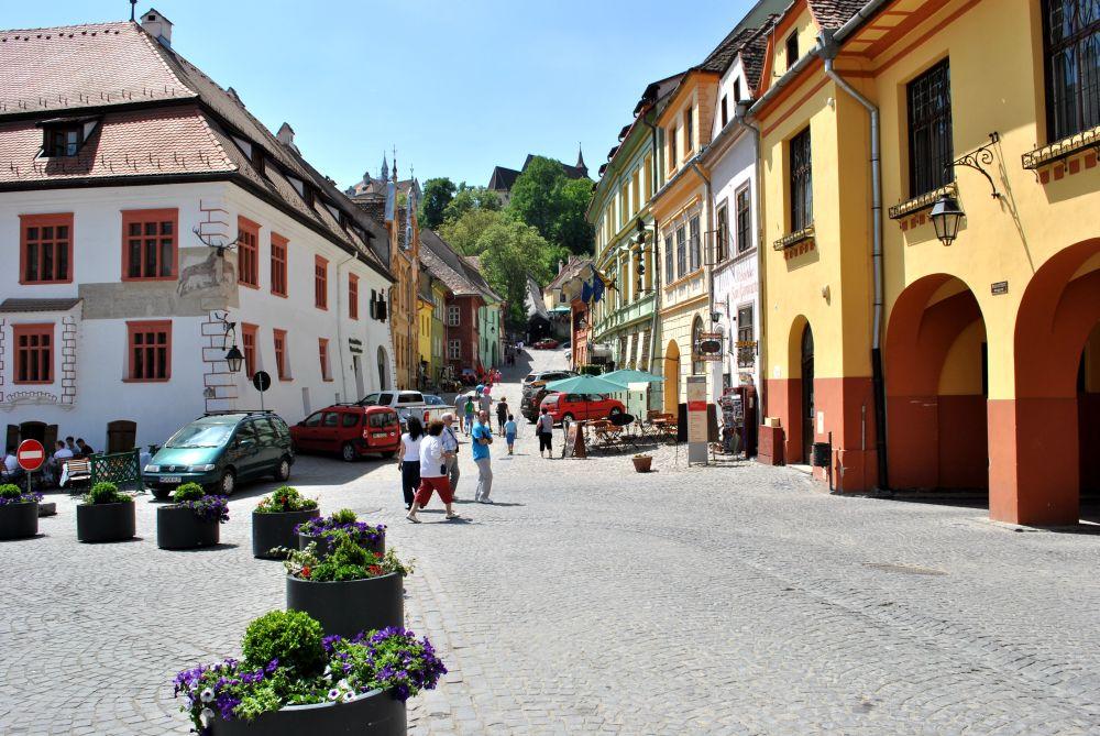 Piata cetatii medievale Sighisoara