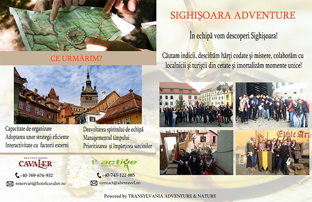 Team building Sighisoara 2015-2